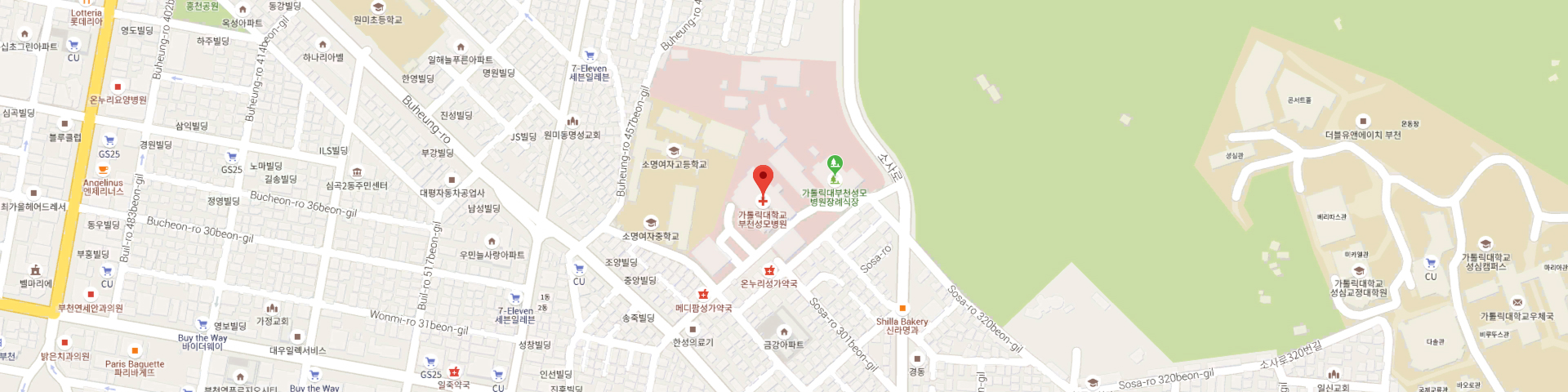 How to find us About Us The Catholic University of Korea Bucheon